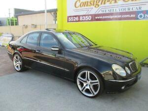 2002 Mercedes-Benz E320 W211 Avantgarde Black 5 Speed Sports Automatic Sedan