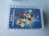 Mickey Mouse Pack of Disney Cards in lovely transparent case