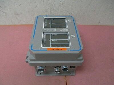Controlotron System 990 Multipulse Transit-Time Flowmeter, Ultrasonic flowmeter