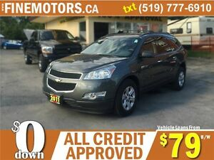 2011 CHEVROLET TRAVERSE LS * 7 PASSENGER * LOW KM * EXTRA CLEAN London Ontario image 5