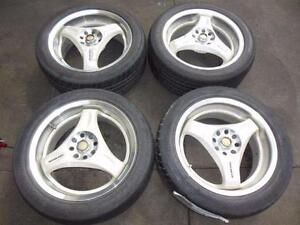 ADVAN RACING 16 X 7 12JJ ADVAN RACING 5X100 RIMS WRX STI ADVAN