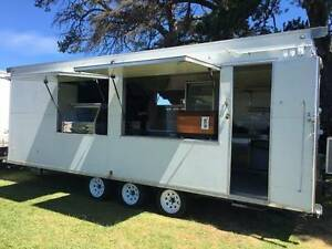 FOOD TRAILER COMMERCIAL CATERING WITH ISUZU REFRIGERATED TRUCK Morphett Vale Morphett Vale Area Preview