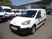 Peugeot Partner L2 716 1.6 92 CREW VAN EURO 5 DIESEL MANUAL WHITE (2013)