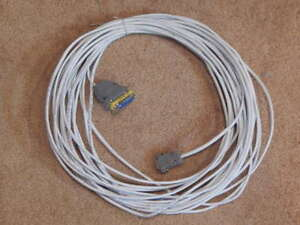 ~55 feet Cat5e cable with DB9 & DB25 connectors