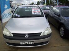 2002 Holden Barina XC Silver 5 Speed Manual Hatchback Woodbine Campbelltown Area Preview