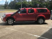 2012 Nissan Navara D40 MY12 ST-X (4x4) Maroon 7 Speed Automatic Dual Cab Pick-up Eagle Farm Brisbane North East Preview