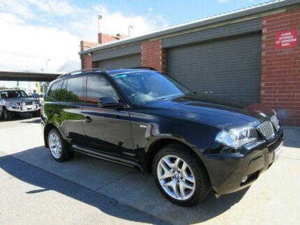 2006 BMW X3 E83 3.0D Black 6 Speed Auto Steptronic Wagon