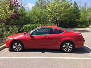 2008 Honda Accord EX Coupe with only 93K km and accident free