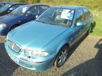 Rover 45 1.6I 16V IMPRESSION S (blue) 2003