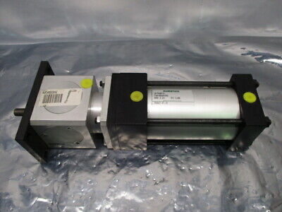 Numatics XB-754857-3 Air Cylinder w/ BMA/M-A Rod Lock, RS1295