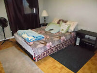 Furnished large All inclusive room for rent from June first