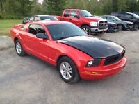 2006 Mustang V6 only 34k IRREPAIRABLE for sale or trade