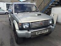 Mitsubishi Pajero 7 seater diesel automatic, starts and drives very well, MOT until March 2017, very