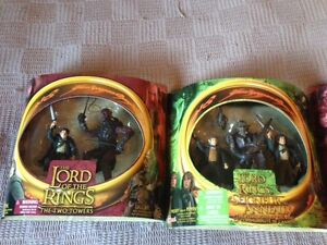 Lord of the RINGS figures MIB MOC lot 1 Orcs and more London Ontario image 1