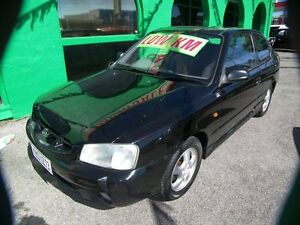 2001 Hyundai Accent LC GLS 5 Speed Manual Nailsworth Prospect Area Preview