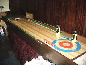 12 ft bank board shuffleboard table