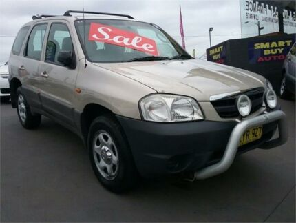 2002 Mazda Tribute Limited Silver 4 Speed Automatic Wagon Greenacre Bankstown Area Preview