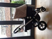 Bugaboo Cameleon Carrycot & Pushchair in Sand and Grey