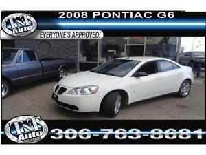 08 Pontiac G6 - GOOD, BAD OR NO CREDIT? APPLYNOW! UR APPROVED