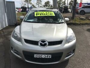 2007 Mazda CX-7 ER Luxury (4x4) Silver 6 Speed Auto Activematic Wagon Lansvale Liverpool Area Preview