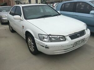 2001 Toyota Camry MCV20R Azura White 4 Speed Automatic Sedan Georgetown Newcastle Area Preview