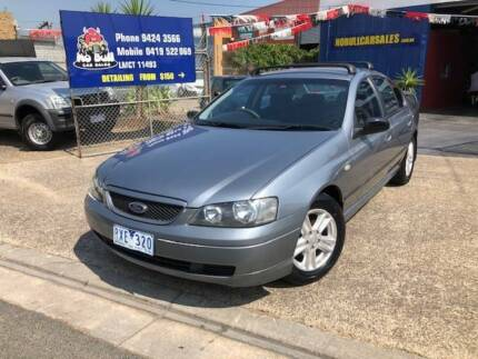 2002 Ford Falcon Sedan LOW KLM's Full Service History Epping Whittlesea Area Preview
