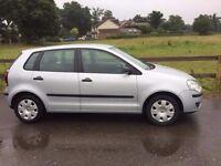 2007 Volkswagen Polo 1,2 litre 5dr 1 owner