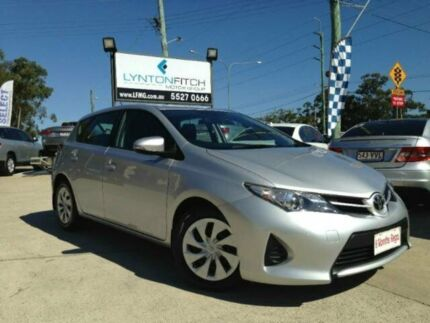 2013 Toyota Corolla ZRE182R Ascent S-CVT Silver 7 SPEED Hatchback Southport Gold Coast City Preview