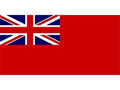 Wetline 1/2 Yard Red Ensign Printed Polyester