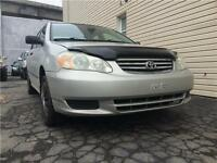**2003 Toyota Corolla CE | MANUELLE, A1 MECHANIQUE, 1.8L 4 CYL