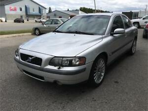 2004 Volvo S60 2.5T, AC, Cuir, Toit, Cruise, Mags, Turbo, Deal