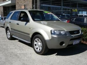 2005 Ford Territory SY TX (4x4) Gold 6 Speed Auto Seq Sportshift Wagon Wangara Wanneroo Area Preview