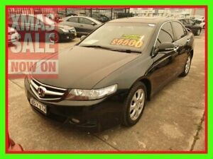 2007 Honda Accord Euro CL MY2007 Black 5 Speed Automatic Sedan
