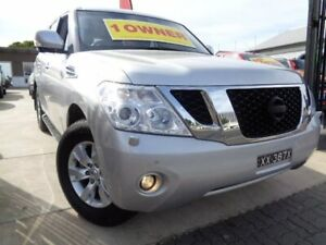 2014 Nissan Patrol Y62 TI-L Silver 7 Speed Sports Automatic Wagon Enfield Port Adelaide Area Preview