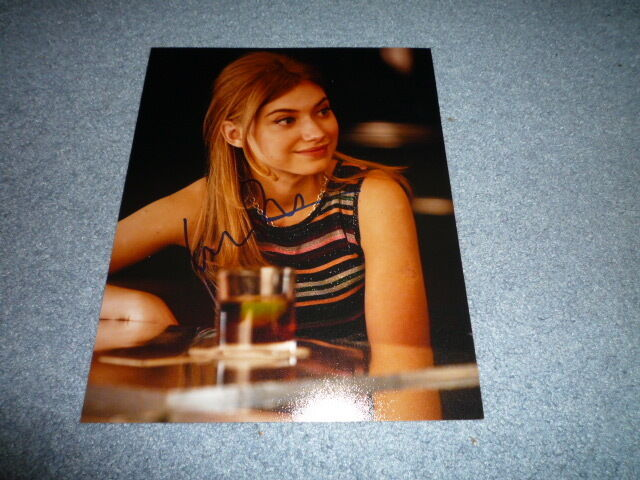 IMOGEN POOTS sexy signed autograph 8x10 (20x25 cm) In Person FRIGHT NIGHT