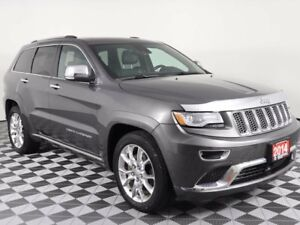 2014 Jeep Grand Cherokee Summit Ecodiesel w/Heated and cooled le