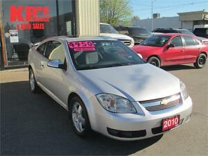 2010 CHEVROLET COBALT LT ! SUNROOF ! LOW KM'S ! WE FINANCE !