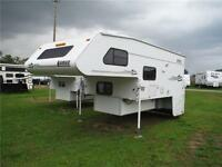 2004 Lance 1121 11' Luxury Truck Camper with Power slideout