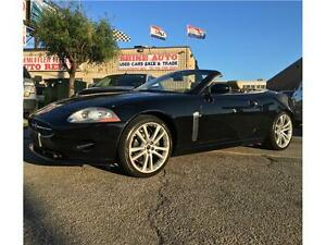 2007 Jaguar XK CONVERTIBLE, NAVIGATION, ACCIDENT FREE