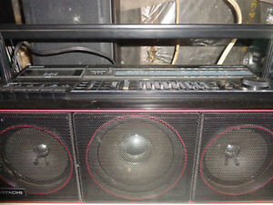 Vintage Ghetto Blaster or Boombox and other Smaller stereos