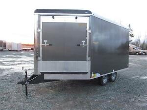 16' ENCLOSED SLED TRAILER WITH EXTRA HEIGHT
