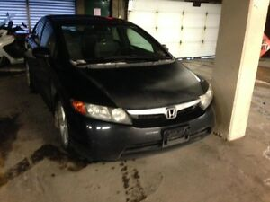 ON Vacation Back Jan 26   2006  Civic Car 158 k Non Registerable