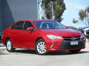 2015 Toyota Camry ASV50R Altise Red 6 Speed Sports Automatic Sedan Ravenhall Melton Area Preview