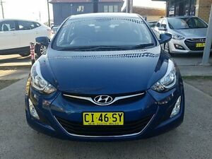 2014 Hyundai Elantra MD Series 2 (MD3) Active Blue 6 Speed Automatic Sedan Five Dock Canada Bay Area Preview