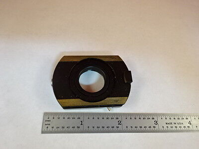 Microscope Part Zeiss Polarizer Objective Holder Pol Optics As Is X6-b-12