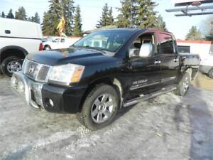 2006 NISSAN TITAN LE 4X4 /LEATHER SUNROOF