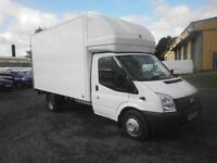 Ford Transit 125 Luton with Taillift DIESEL MANUAL WHITE (2014)