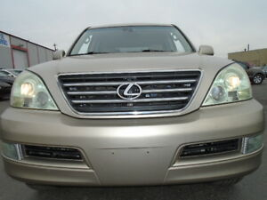 2004 Lexus GX 470 V8 4X4 LUXURY SPORT PKG-DVD-HDTV-LEATHER-SUNRF