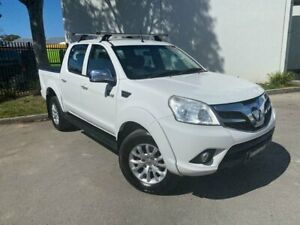2014 Foton Tunland P201 Utility Dual Cab 4dr Man 5sp 4x4 1025kg 2.8DT White Manual Utility Oxley Park Penrith Area Preview