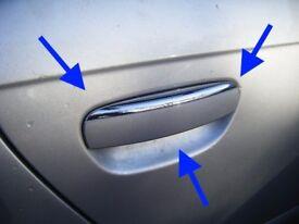 Audi A3 8P S line facelift chrome lip door handle passenger driver rear front S3